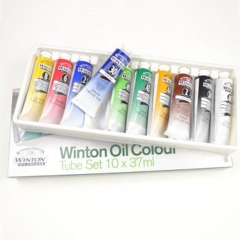 Winsor & Newton Winton Oil Color Starter Set 10pcs X 21ml